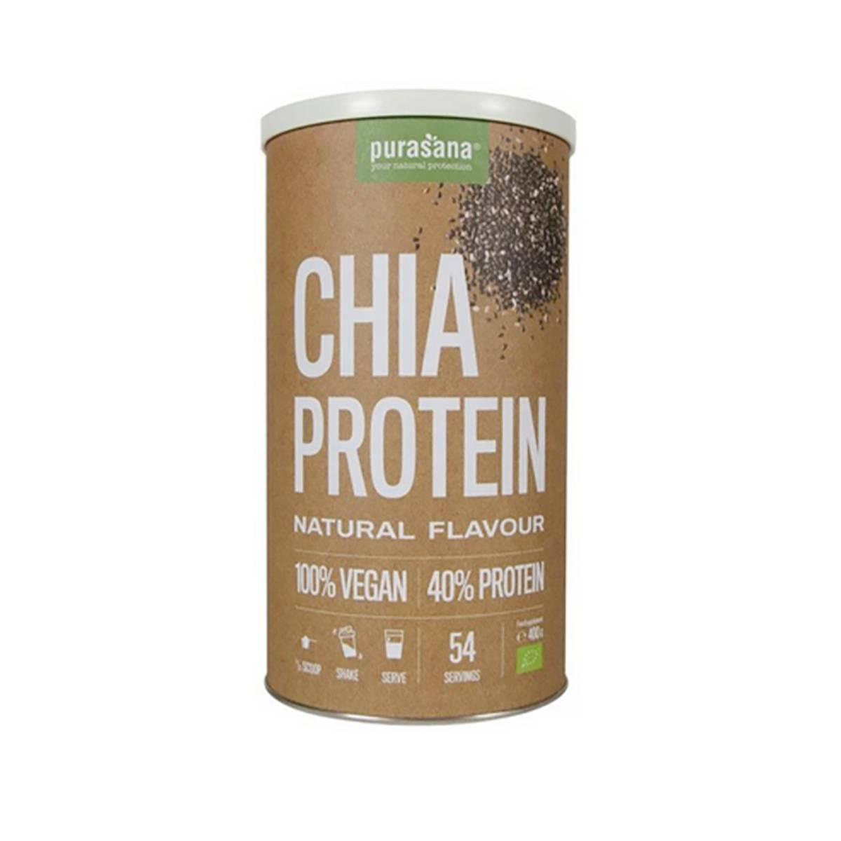 Chia protein naturell