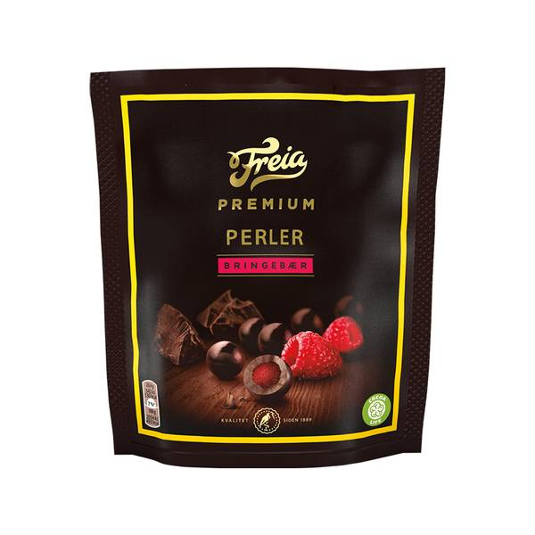Bilde av Premium Perler Bringebær
