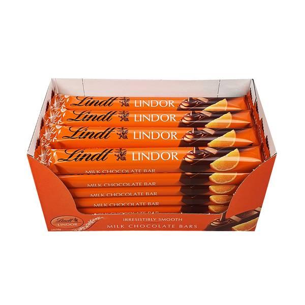 Bilde av Lindor sticks orange (Kartong 24stk)